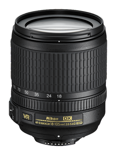 Nikon AF-S NIKKOR 18-105mm f/3.5-5.6G ED VR DX - Photo-Video - Nikon - Helix Camera