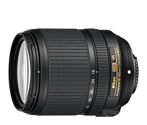Nikon AF-S NIKKOR 18-140mm f/3.5-5.6G ED VR DX - Photo-Video - Nikon - Helix Camera