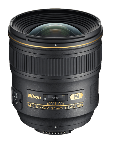 Nikon AF-S NIKKOR 24mm f/1.4G ED - Photo-Video - Nikon - Helix Camera