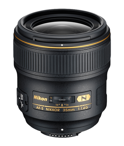 Nikon AF NIKKOR 35mm f/1.4G - Photo-Video - Nikon - Helix Camera