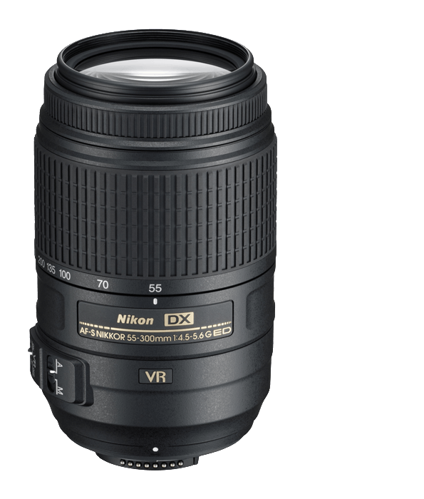 Nikon AF-S NIKKOR 55-300mm f/4.5-5.6G ED VR DX - Photo-Video - Nikon - Helix Camera