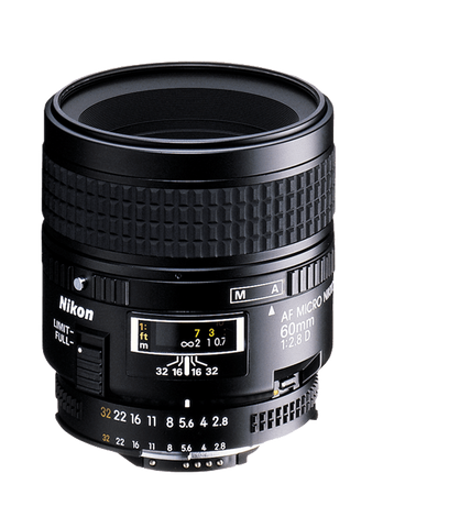 Nikon AF Micro NIKKOR 60mm f/2.8D - Photo-Video - Nikon - Helix Camera
