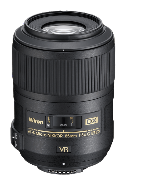 NIKON AF-S MICRO NIKKOR 85MM F/3.5G VR DX - Photo-Video - Nikon - Helix Camera