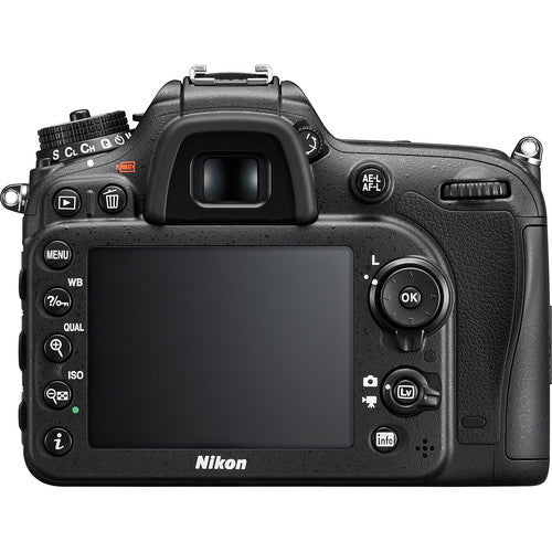 NIKON D7200 DX-FORMAT DIGITAL SLR BODY (BLACK)