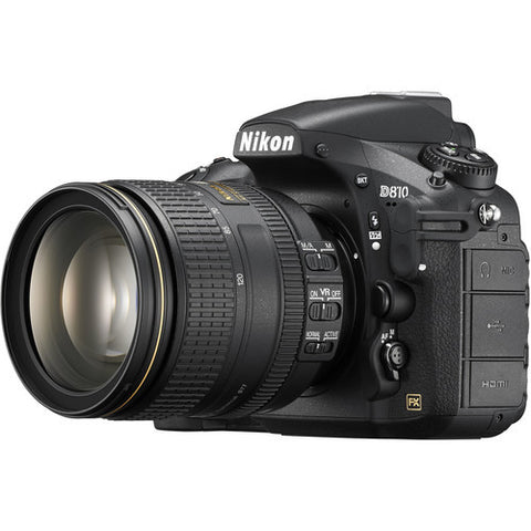 Nikon D810 FX DSLR with 24-120mm F4 Lens Kit