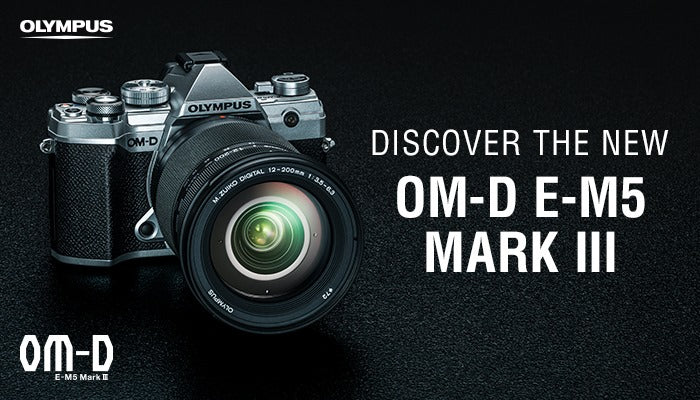 Discover the Olympus OM-D E-M5 Mark III at Helix Camera