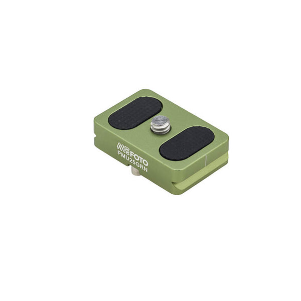 MeFoto PMU25 Quick Release Plate Backpacker Air - Green