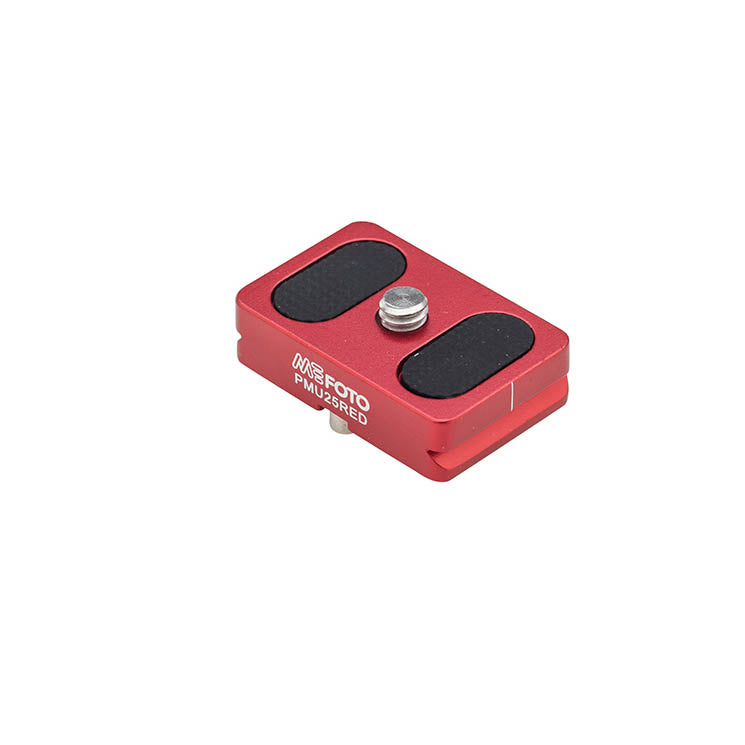 MeFoto PMU25 Quick Release Plate Backpacker Air - Red