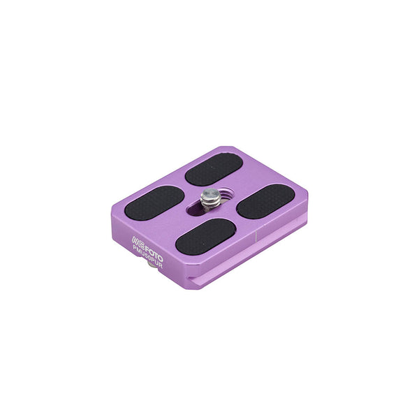 MeFoto PMU50 Quick Release Plate Roadtrip/Globetrotter Air - Purple
