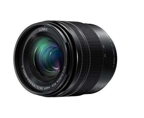 Panasonic Lumix G Vario 12-60mm f3.5-5.6 ASPH Power O.I.S. Lens