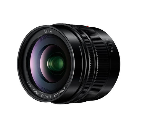 Panasonic Lumix 12mm f1.4 Leica Summilux Lens