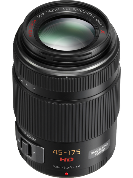 Panasonic LUMIX G X Vario 45-175mm F4.0-5.6 ASPH Power O.I.S. Lens