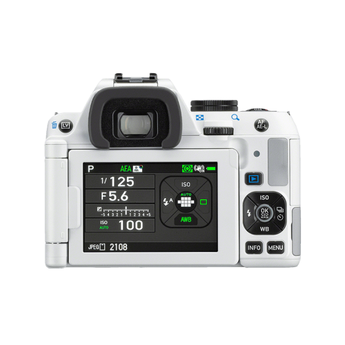 Pentax K-S2 DSLR Body Only (White) - Photo-Video - Pentax - Helix Camera