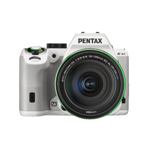 Pentax K-S2 with 18-50mm WR Lens (White) - Photo-Video - Pentax - Helix Camera