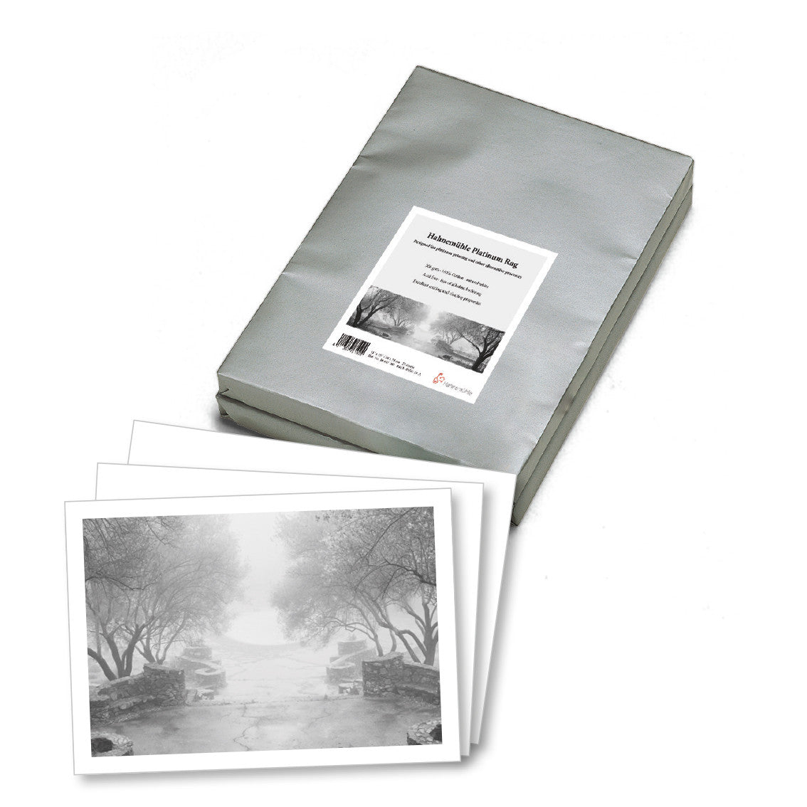 "Hahnemuhle Platinum Rag 300gsm 20""x24"", 25 sheets  (10647101) - Print-Scan-Present - Hahnemuhle - Helix Camera"