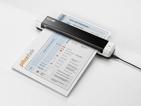 Plustek MobileOffice S410 mobile document scanner (PLS-783064284271) - Print-Scan-Present - Plustek - Helix Camera