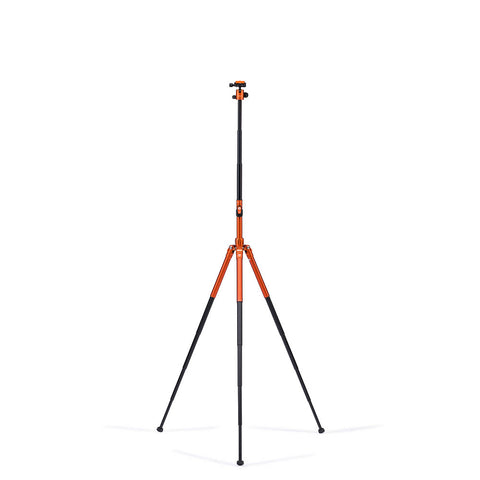MeFoto Road Trip Air Travel Tripod with Ball Head - Orange