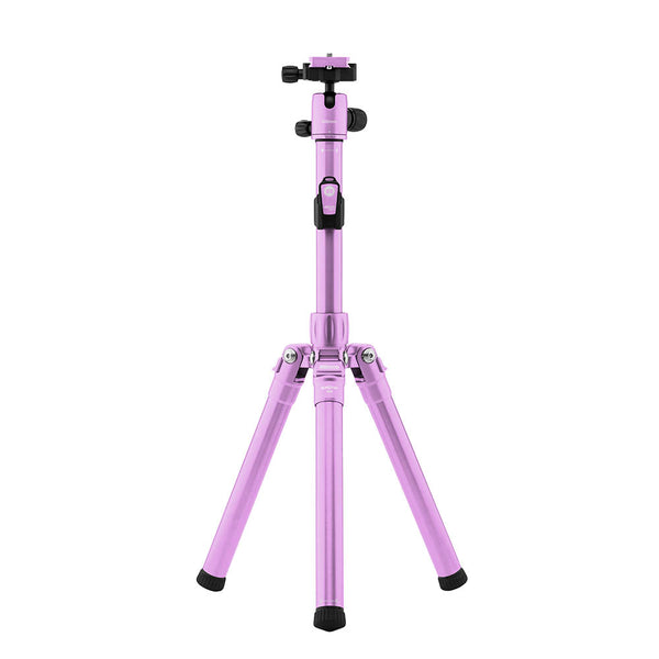 MeFoto Road Trip Air Travel Tripod with Ball Head - Purple
