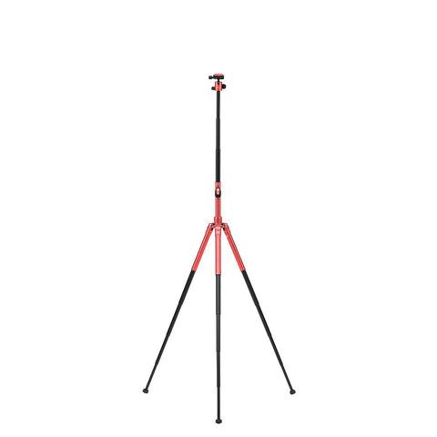 MeFoto Road Trip Air Travel Tripod with Ball Head - Red