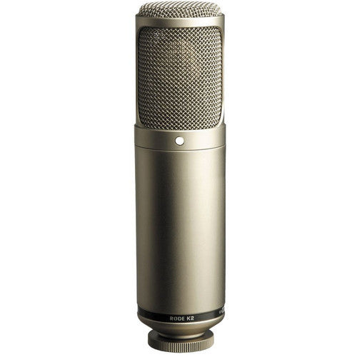 RODE K2 - Variable Pattern Studio Tube Condenser Microphone #K2 - Audio - RØDE - Helix Camera