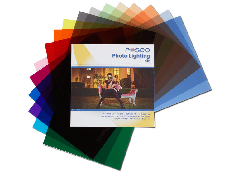 "Rosco Photo Lighting Filter Kit - 12""x12"""
