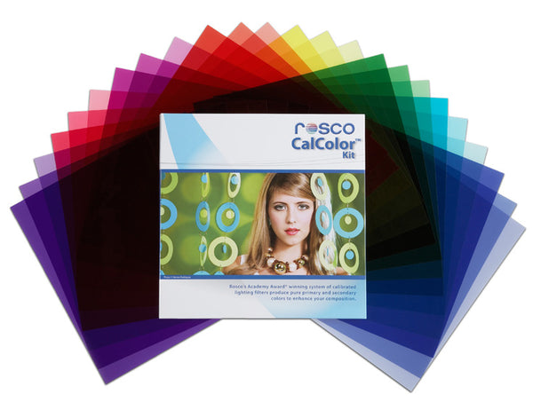 "Rosco CalColor Filter Kit - 12""x12"""