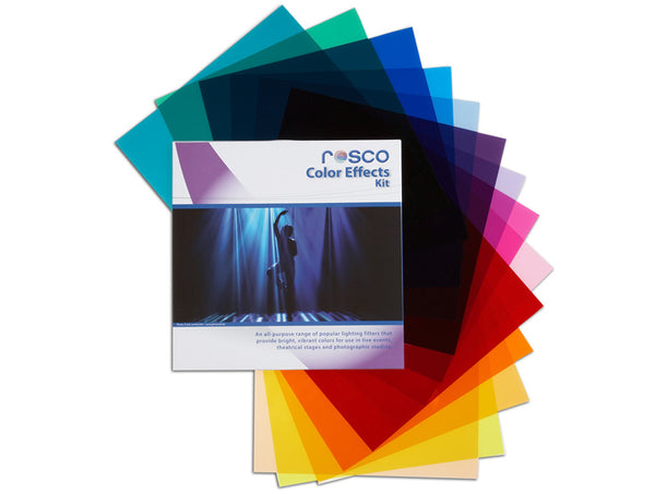 "Rosco Color Effects Filter Kit - 12""x12"""