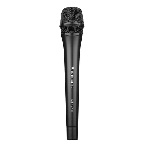 Saramonic SR-HM7 Di Digital Dynamic Handheld Microphone with Lightning Cable for Apple iPhone & iPad & USB Cable for Windows PCs & Apple Mac Computers
