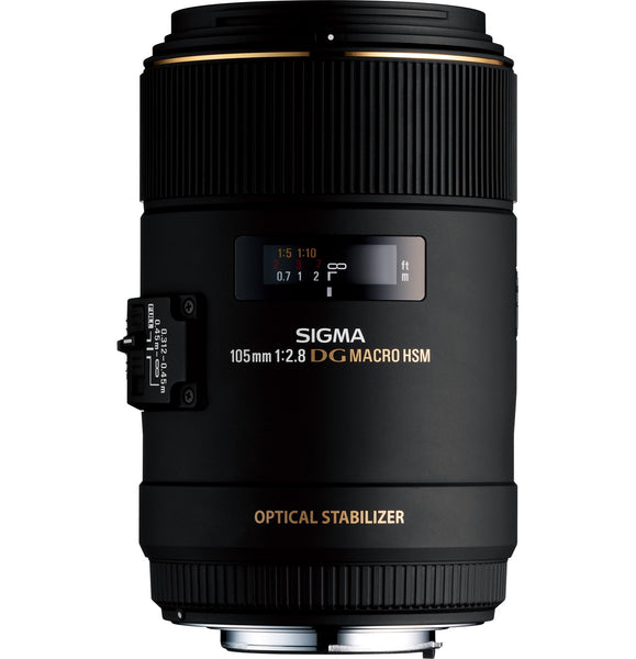 Sigma 105mm F2.8 EX DG OS HSM Macro (Canon) - Photo-Video - Sigma - Helix Camera
