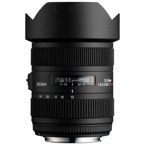 Sigma 12-24mm F4.5-5.6 II DG ASP-HSM (Sony) - Photo-Video - Sigma - Helix Camera