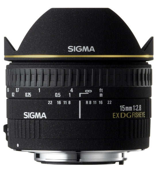 Sigma 15mm F2.8 EX DG Diagonal Fish-Eye (Sigma) - Photo-Video - Sigma - Helix Camera