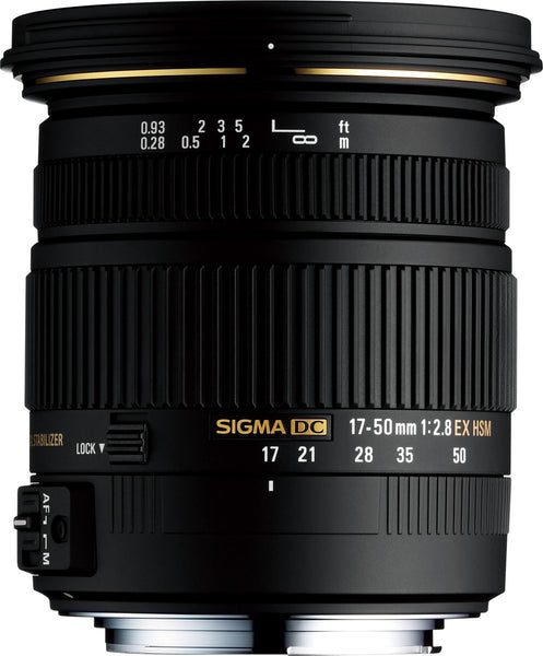 Sigma 17-50mm F2.8 EX DC OS HSM (Canon) - Photo-Video - Sigma - Helix Camera