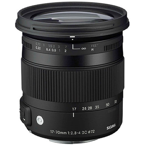 Sigma 17-70mm F2.8-4 CONTEMPORARY DC Macro OS HSM (Sony) - Photo-Video - Sigma - Helix Camera