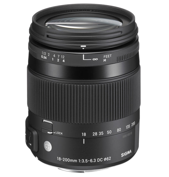 Sigma 18-200mm F3.5-6.3 CONTEMPORARY DC Macro OS HSM (Nikon) - Photo-Video - Sigma - Helix Camera