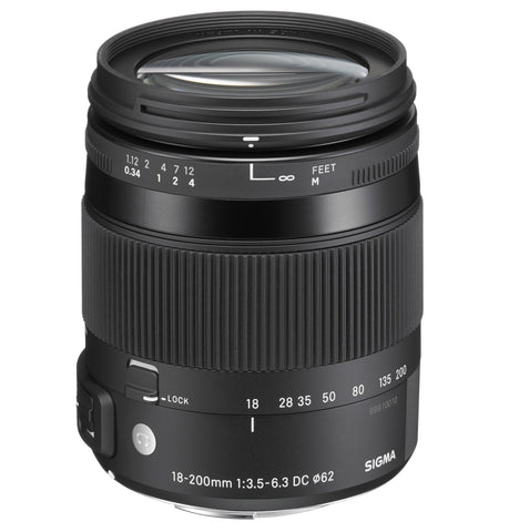 Sigma 18-200mm F3.5-6.3 CONTEMPORARY DC Macro OS HSM (Pentax) - Photo-Video - Sigma - Helix Camera