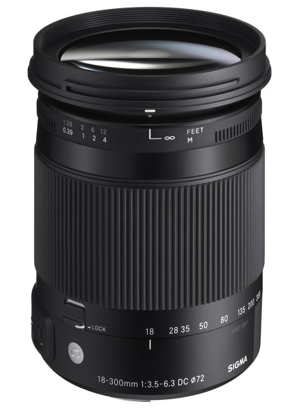 Sigma 18-300mm F3.5-6.3 CONTEMPORARY DC Macro OS HSM (Sigma) - Photo-Video - Sigma - Helix Camera