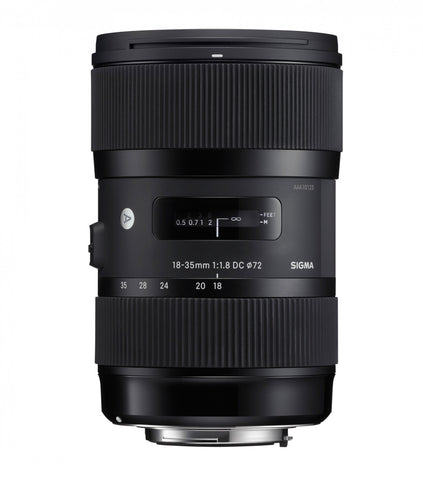 Sigma 18-35mm F1.8 ART DC HSM (Canon) - Photo-Video - Sigma - Helix Camera