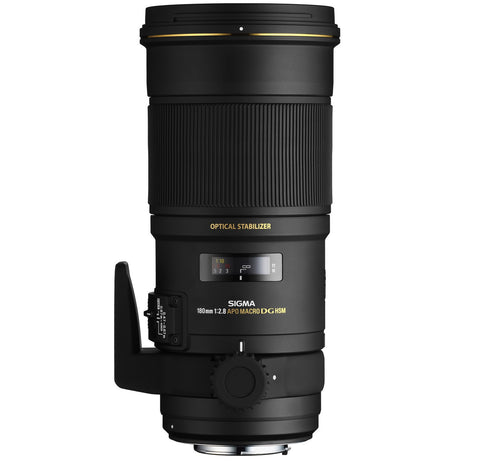 Sigma 180mm F2.8 EX APO DG HSM OS Macro (Nikon) - Photo-Video - Sigma - Helix Camera