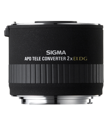 Sigma 2.0 X Teleconverter EX APO DG (Sigma) - Photo-Video - Sigma - Helix Camera