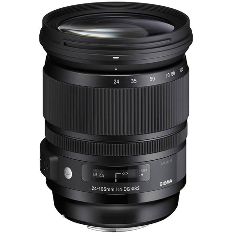 Sigma 24-105mm F4.0 ART DG OS HSM (Nikon) - Photo-Video - Sigma - Helix Camera