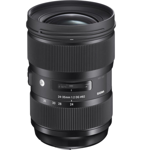 Sigma 24-35mm F2.0 ART DG HSM (Nikon) - Photo-Video - Sigma - Helix Camera