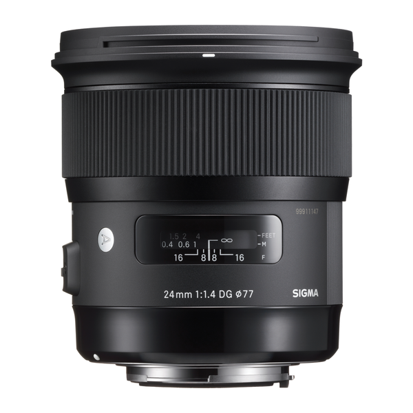 Sigma 24mm F1.4 ART DG HSM (Nikon) - Photo-Video - Sigma - Helix Camera