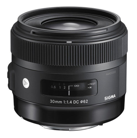 Sigma 30mm F1.4 ART DC HSM (Nikon) - Photo-Video - Sigma - Helix Camera