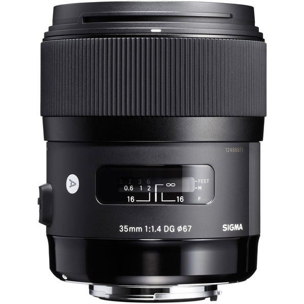 Sigma 35mm F1.4 ART DG HSM (Pentax) - Photo-Video - Sigma - Helix Camera