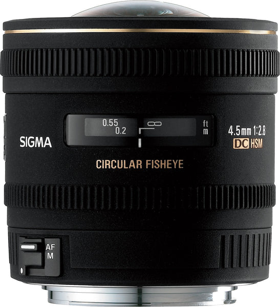 Sigma 4.5mm F2.8 EX DC HSM Circular Fisheye (Nikon) - Photo-Video - Sigma - Helix Camera