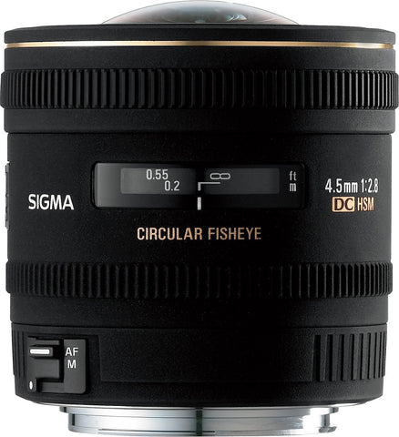 Sigma 4.5mm F2.8 EX DC HSM Circular Fisheye (Sony) - Photo-Video - Sigma - Helix Camera