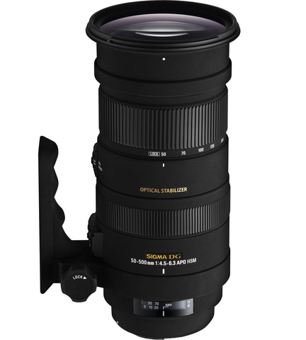Sigma 50-500mm F4-6.3 DG APO OS HSM (Nikon) - Photo-Video - Sigma - Helix Camera