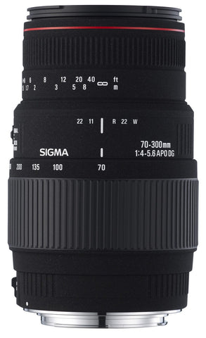 Sigma 70-300mm F4-5.6 APO-M DG (Motorized) (Nikon) - Photo-Video - Sigma - Helix Camera