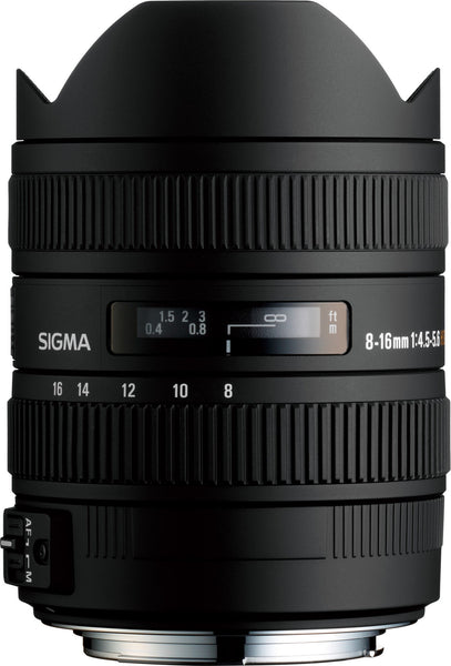 Sigma 8-16mm F4.5-5.6 DC HSM (Nikon) - Photo-Video - Sigma - Helix Camera