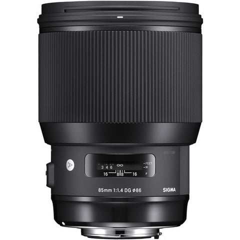 Sigma 85mm F1.4 DG HSM Art (Sigma) - Photo-Video - Sigma - Helix Camera
